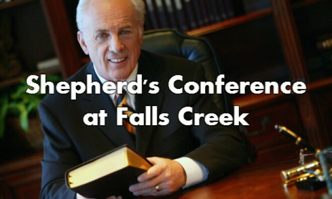 Shepherds Conference at Falls Creek