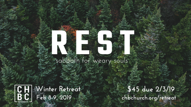 Student Ministry Winter Retreat
