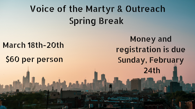 Voice of the Martyr/Outreach
