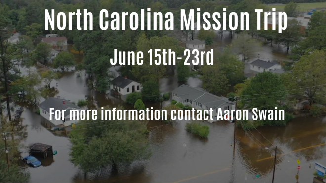 North Carolina Missions Trip