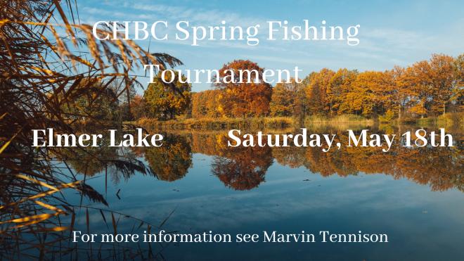 CHBC Spring Fishing Tournament