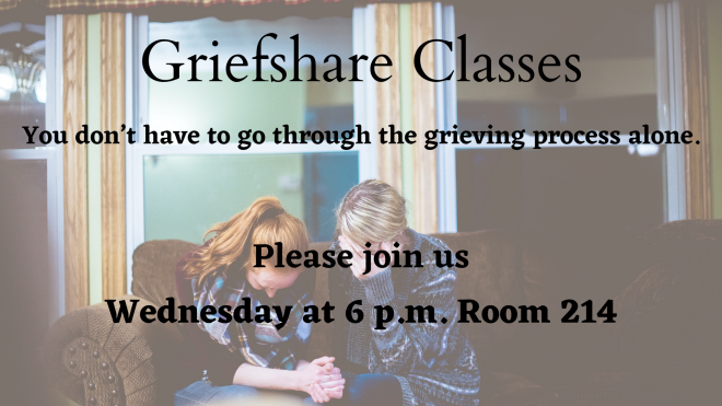 Griefshare Meetings