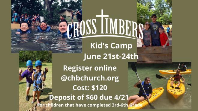 Crosstimbers Kids Camp